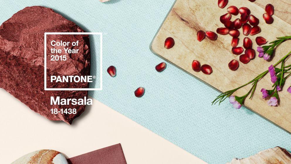 Pantone Trendfarbe 2015