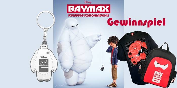 BAYMAX – Riesiges Robowabohu – Gewinnspiel