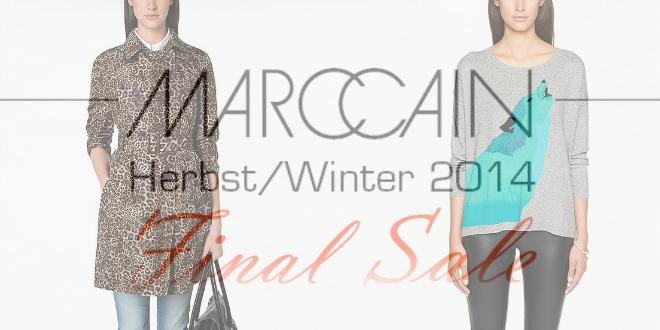 Shoppen und Geld sparen im Marc Cain Sale