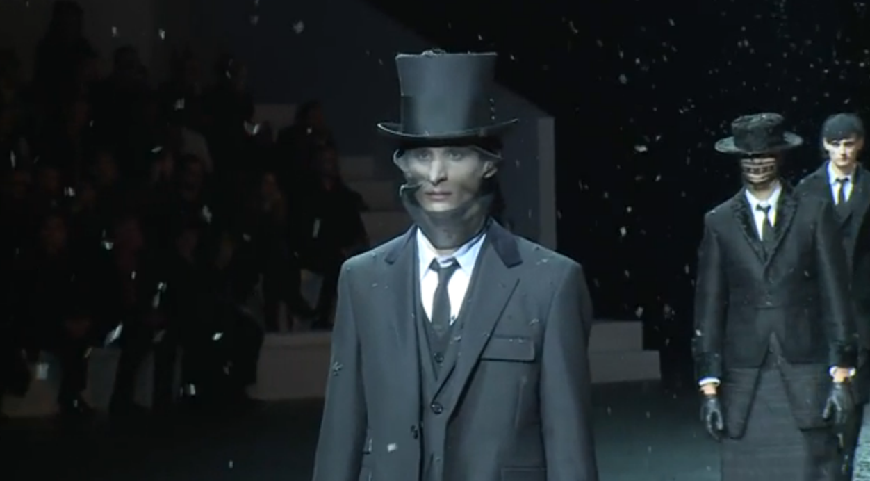 PARIS MEN'S COLLECTIONS Autumn Winter 2015 Thom Browne