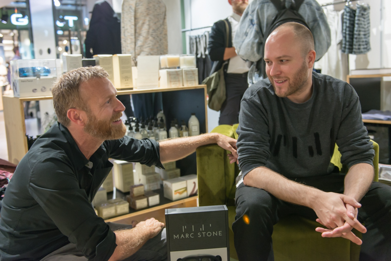 marc stone interview friends sale im bam berlin mode. Black Bedroom Furniture Sets. Home Design Ideas