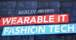 Berlin Award Wearable IT/Fashion Tech 2015