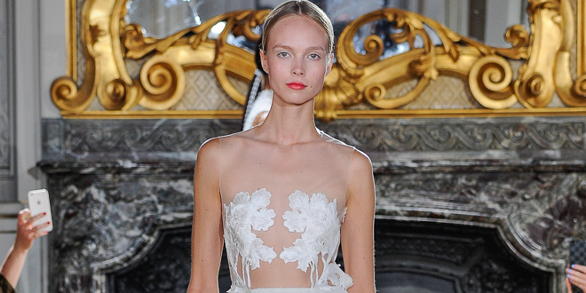 Kaviar Gauche – Bridal Couture 2016 – Paris Fashion Week WHITE IRIS