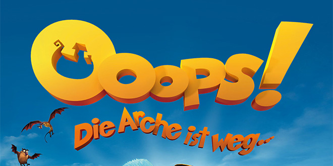 OOOPS! DIE ARCHE IST WEG… – DVD / Blu-ray Gewinnspiel