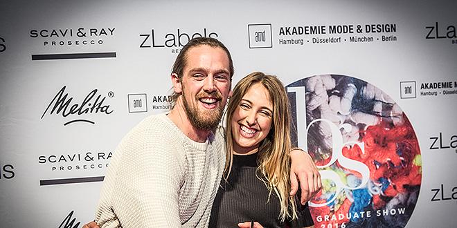 AMD BEST GRADUATE 2016 sind Maximilian Huber und Nina Körle