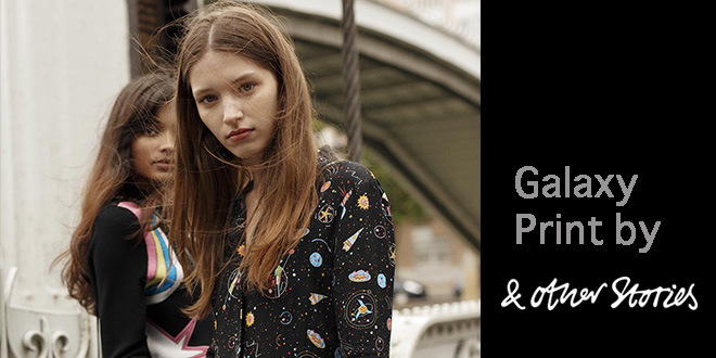 Trend 2016: Galaxy Print by & other stories