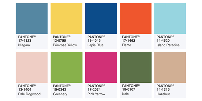 trendfarben fr hjahr 2017 pantone fashion color report mode shopping designer trends. Black Bedroom Furniture Sets. Home Design Ideas