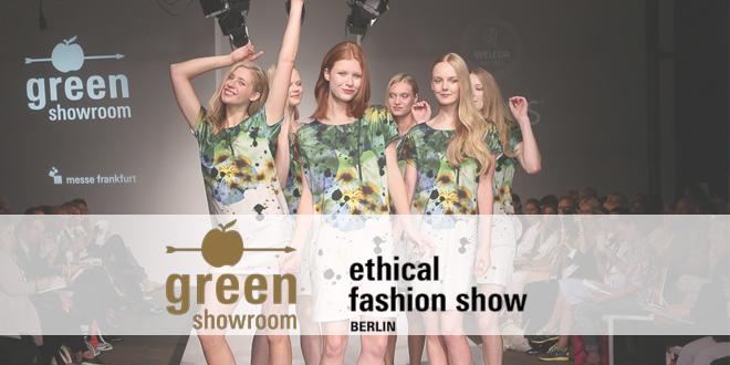 Greenshowroom und Ethical Fashion Show Berlin 2017 Funkhaus Berlin