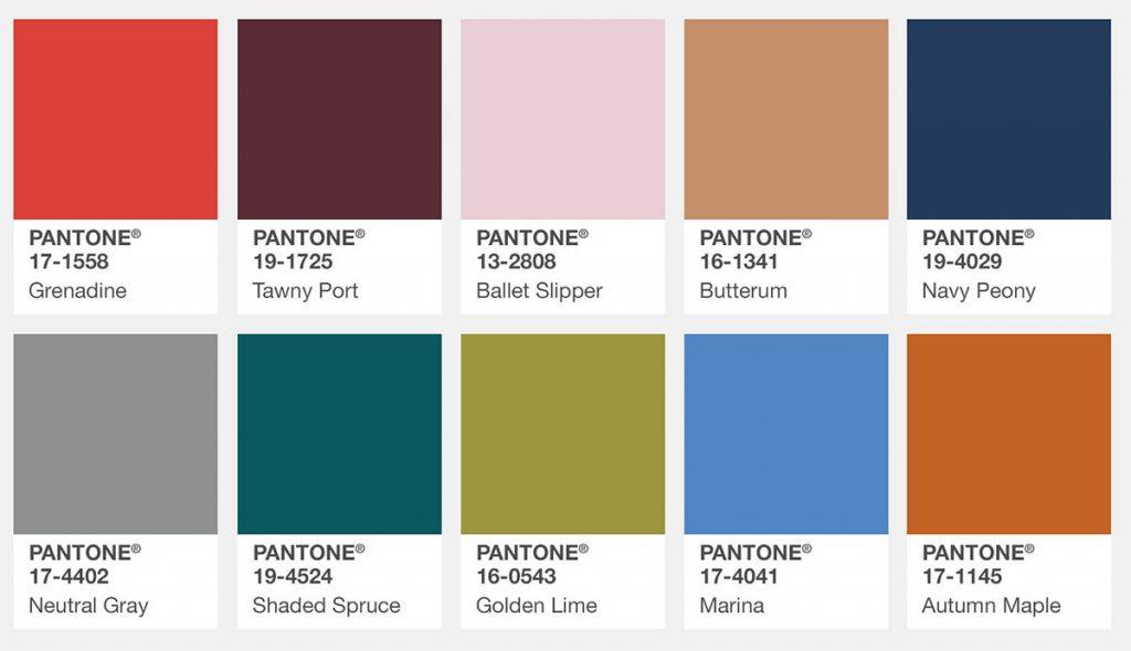 farbtrends herbst 2017 pantone fashion color report mode shopping designer trends. Black Bedroom Furniture Sets. Home Design Ideas