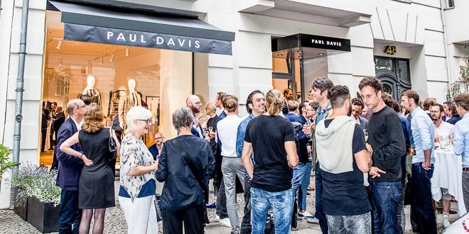PAUL DAVIS Grand Opening 2017 – Handgefertigte Anzüge am Kurfürstendamm
