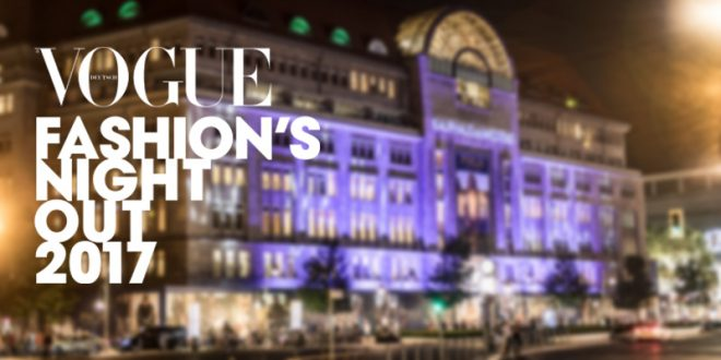 VOGUE Fashion's Night Out 2017 – VFNO 2017 – save the date