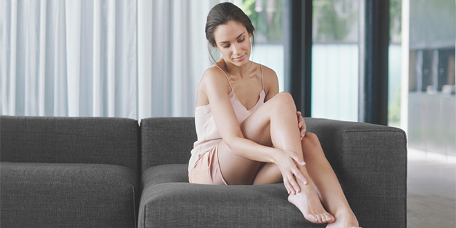 Braun Silk-épil 9 SkinSpa für glatte Beine – Werbung