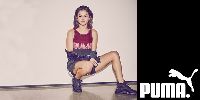 Selena Gomez trägt jetzt PUMA