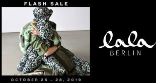 LALA BERLIN Flash Sale 2019 - Kollektions- und Musterteile