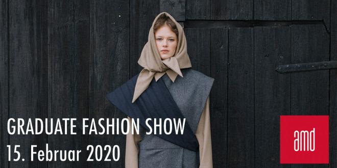 AMD Graduate Fashionshows in Berlin, Hamburg und Düsseldorf - save the date