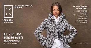 FAEX Pop Up Store öffnet zum Gallery Weekend 2020 in Berlin-Mitte